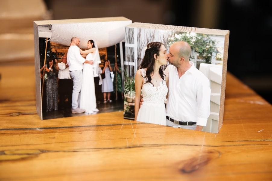 תמונות בלוק עץ לאירועים